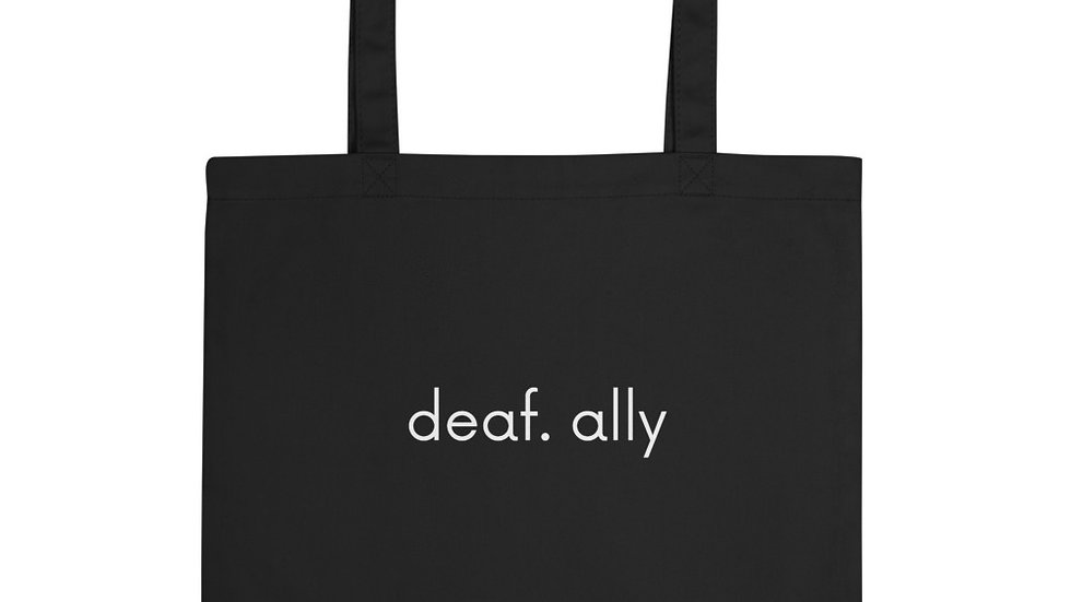 deaf. ally - Eco Tote Bag