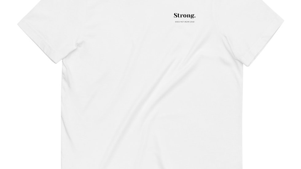 Strong - Unisex - 100% Organic Cotton T-Shirt