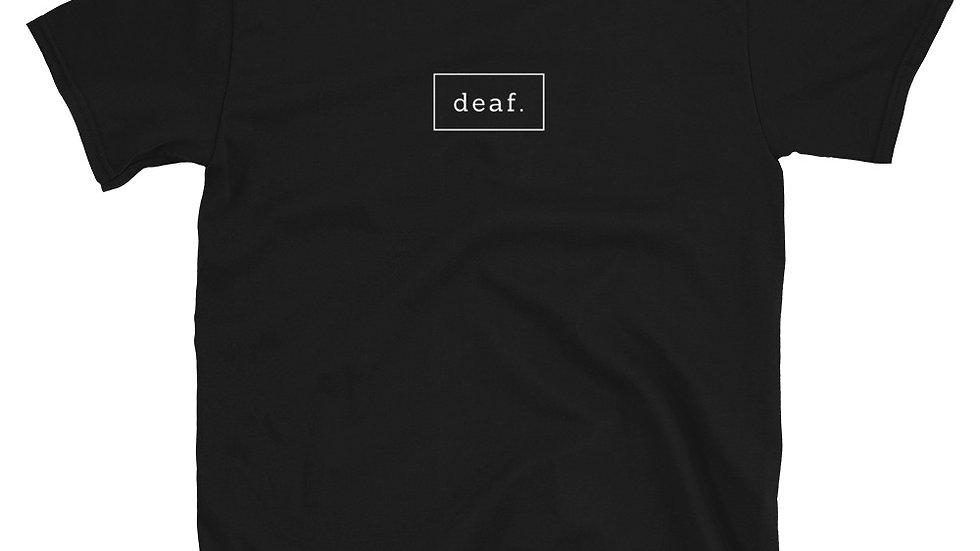 deaf. T-shirt