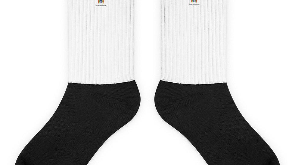 love is love. Socks