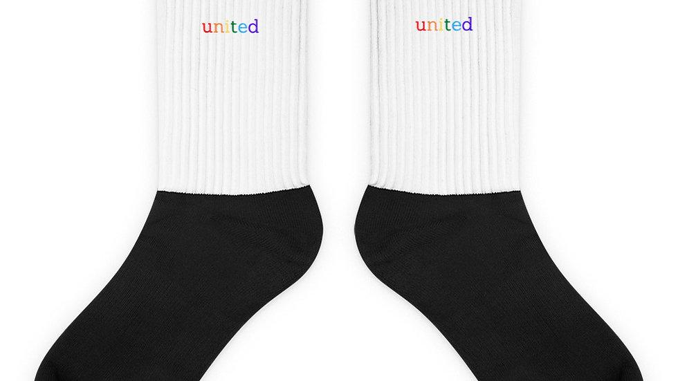 united. Socks