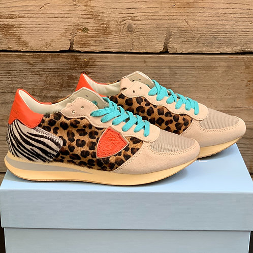 PHILIPPE MODEL Sneaker Animal Print