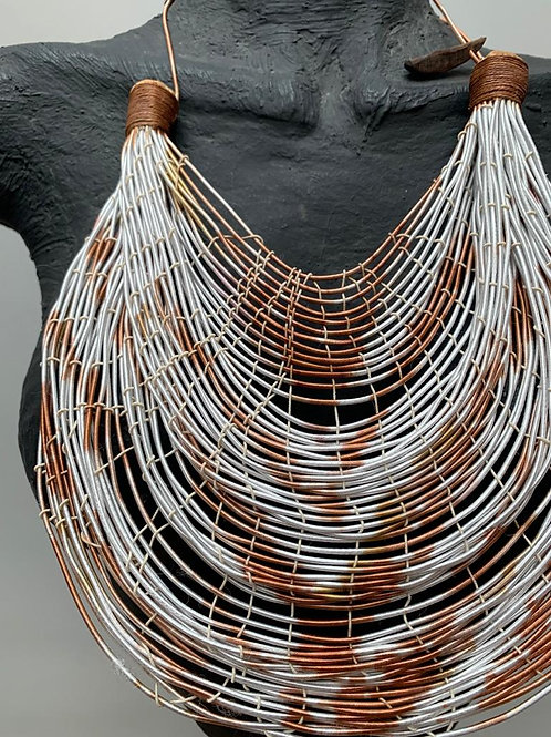 MARIANA MENDEZ Ketting Wit Roest Mix