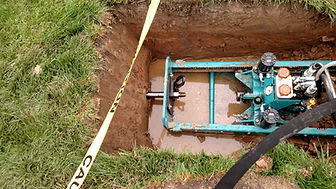 Performing trenchless pipe repair in Augusta County, VA