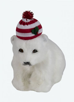 POLAR BEAR CUB W/ HAT