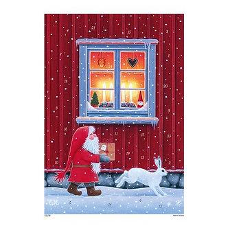Korsch Advent - Tomte w/Window