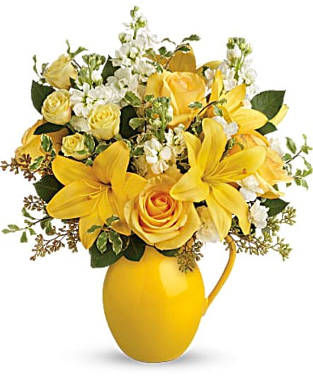 Teleflora's Sunny Outlook Bouquet