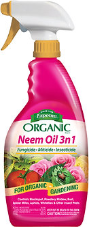 Espoma Organic Neem Oil 3 in1 24 oz