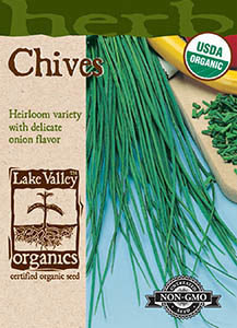 ORGANIC CHIVES  HEIRLOOM