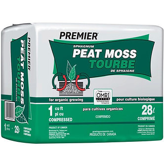 Premier Sphagnum Peat Moss 1 cu ft