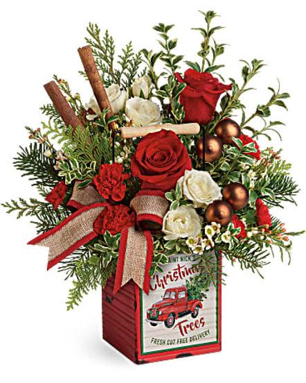 Teleflora's Quaint Christmas Bouquet