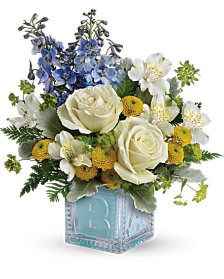Teleflora's Welcome Little One Bouquet