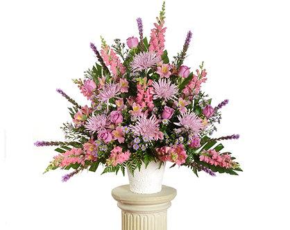 Pink & Lavender  Mache