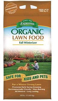 Espoma Organic Fall Lawn Fertilizer