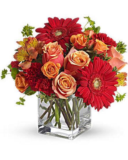 Santa Fe Sunset Bouquet by Teleflora
