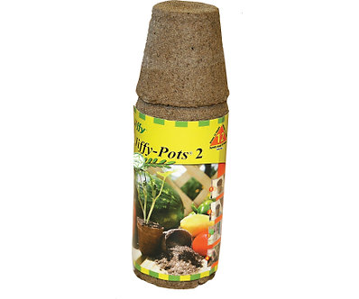 Jiffy 12pk 2in Round Peat Pots