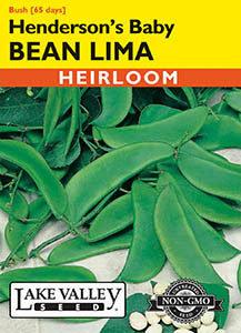BEAN LIMA HENDERSON'S BABY   HEIRLOOM