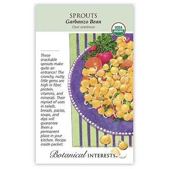 Sprouts Garbanzo Bean Org