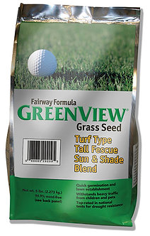 GreenView Fairway Grass Seed Sun and Shade Mixture