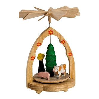 Mini Pyramid - Farm Scene