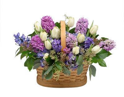 The Hyacinth Basket