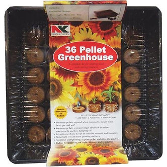 Jiffy Seed Starting Tray w 36 Pellets & Dome