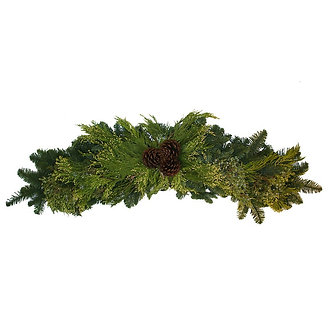 Large Deluxe Mantle w/Cones - 48in