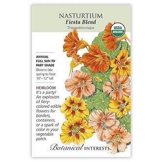 Nasturtium Fiesta Blend Org
