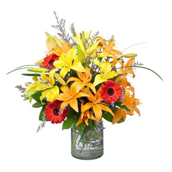 Yellow & Orange Vase
