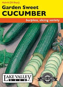 CUCUMBER GARDEN SWEET HYBRID (BURPLESS)