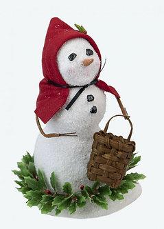 SNOWMAN W/ BASKET