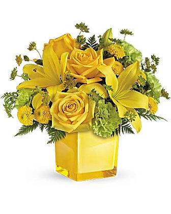 Teleflora's Sunny Mood Bouquet
