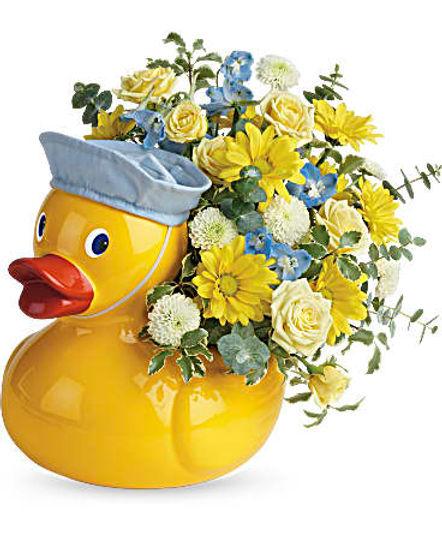Teleflora's Lucky Ducky Bouquet