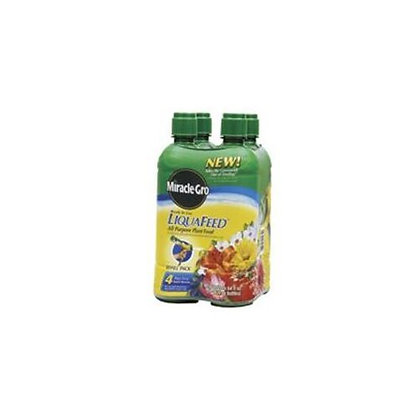 Miracle Gro  16-Ounce LiquaFeed Plant Food Refill Bottles