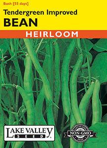 BEAN BUSH TENDERGREEN IMPROVED  HEIRLOOM