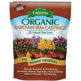 Espoma Organic Earthworm Castings Potting Mix 4 qt