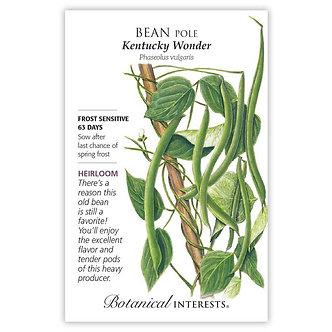 Bean Pole Kentucky Wonder