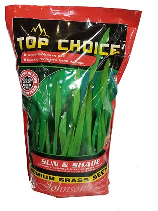 Johnson's Top Choice Premium Grass Seed Sun and Shade Mixture
