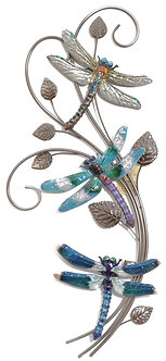 LUSTER WALL DECOR DRAGONFLIES