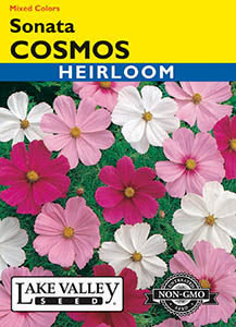 COSMOS SONATA MIXED COLORS  HEIRLOOM