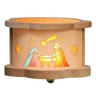 Tea light Luminary - Nativity