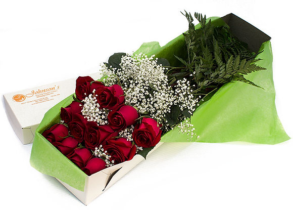 Boxed Roses (Choose Color)