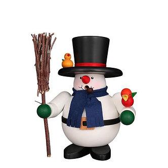Smoker Rolly Polly Snowman Birds