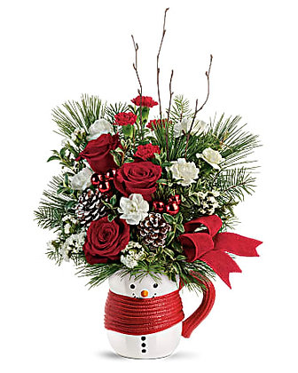 Send a Hug Festive Friend Bouquet by Teleflora