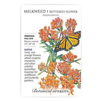 Milkweed Butterfly Flower