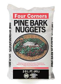 Pine Bark Large Nuggets Mulch 2 cu ft