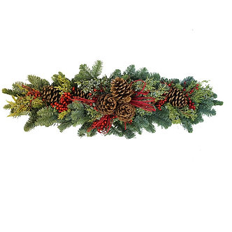 Enchanted Forest Mantle Wreath