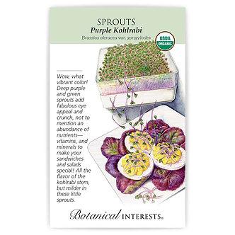 Sprouts Purple Kohlrabi Org