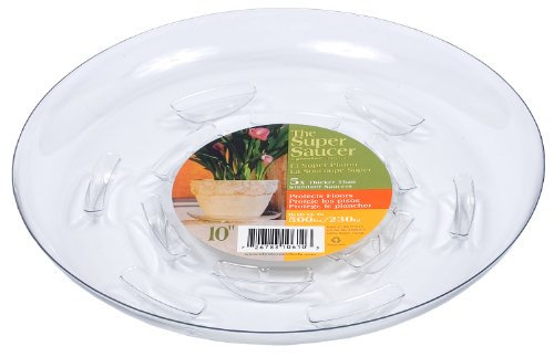 Plastec Products 10in. Super Saucer SS010 - Pack of 12