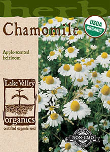 ORGANIC CHAMOMILE  HEIRLOOM